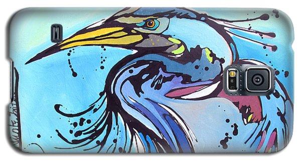 Big Blue Galaxy S5 Case by Nicole Gaitan