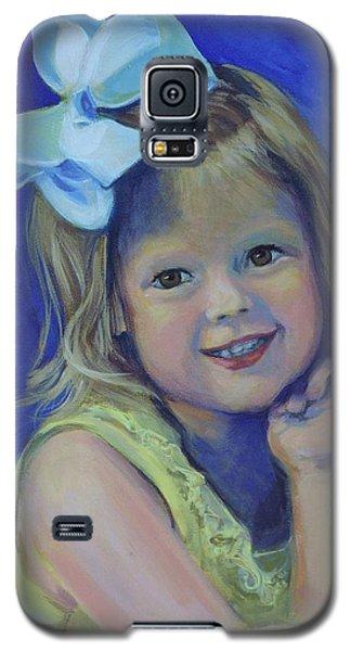 Big Bow Little Girl Galaxy S5 Case