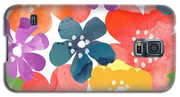 Big Bright Flowers Galaxy S5 Case