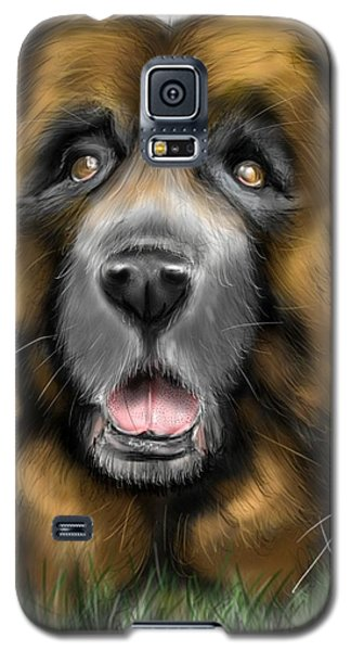 Galaxy S5 Case featuring the digital art Big Dog by Darren Cannell