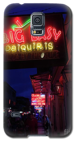 Galaxy S5 Case featuring the photograph Big Easy Sign by Steven Spak