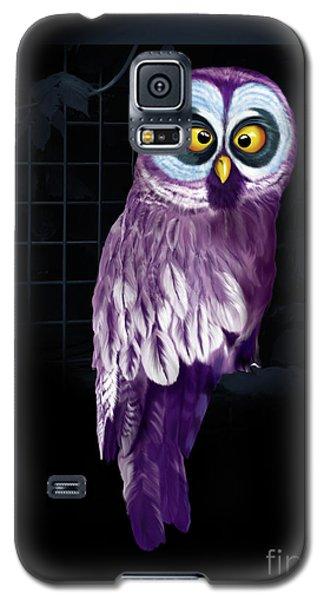 Big Eyed Owl Galaxy S5 Case
