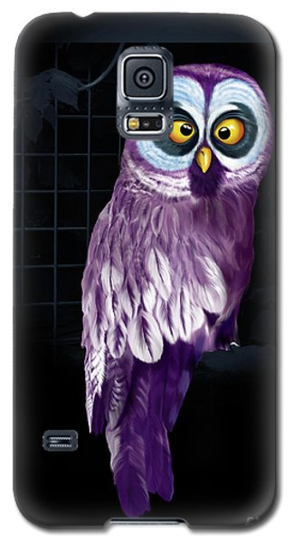 Big Eyed Owl Galaxy S5 Case