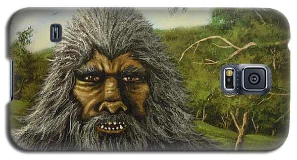 Galaxy S5 Case featuring the painting Big Foot In Pennsylvania by James Guentner