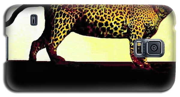 Big Game Africa - Leopard Galaxy S5 Case by Sadie Reneau