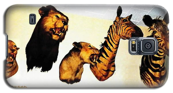Big Game Africa - Zebras And Lions Galaxy S5 Case by Sadie Reneau