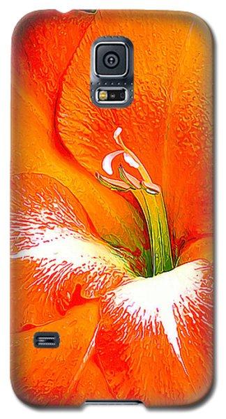 Big Glad In Bright Orange Galaxy S5 Case