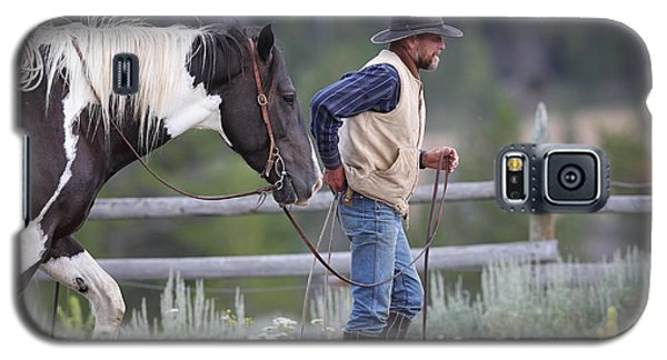 Big Horn Cowboy Galaxy S5 Case