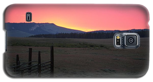 Big Horn Sunrise Galaxy S5 Case