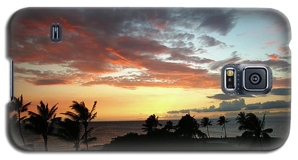 Galaxy S5 Case featuring the photograph Big Island Sunset #2 by Anthony Jones