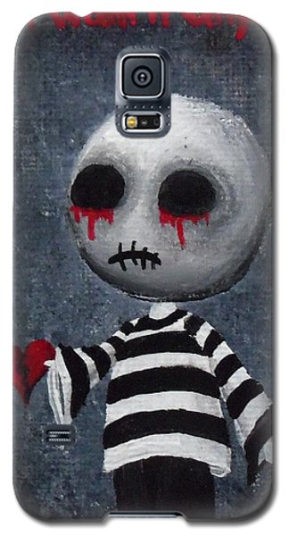Big Juicy Tears Of Blood And Pain 1 Galaxy S5 Case by Oddball Art Co by Lizzy Love