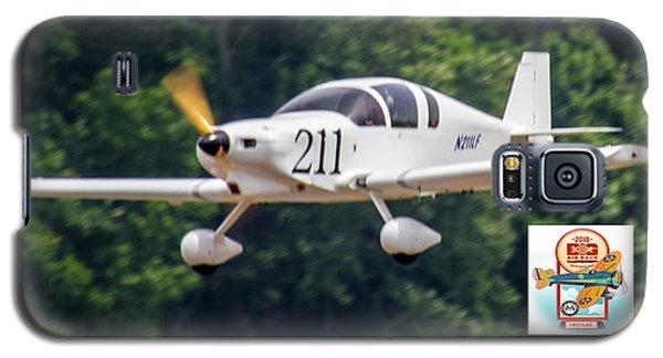 Big Muddy Air Race Number 211 Galaxy S5 Case