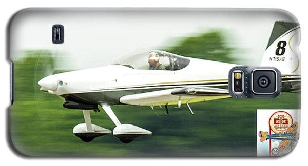 Big Muddy Air Race Number 8 Galaxy S5 Case