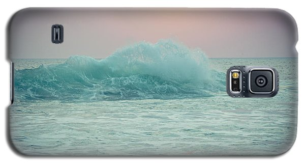 Big Ocean Wave At Sunset With Sun Galaxy S5 Case