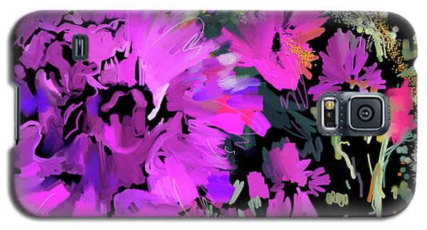 Big Pink Flower Galaxy S5 Case