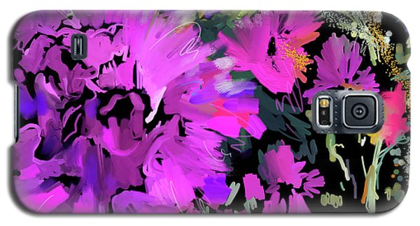 Big Pink Flower Galaxy S5 Case