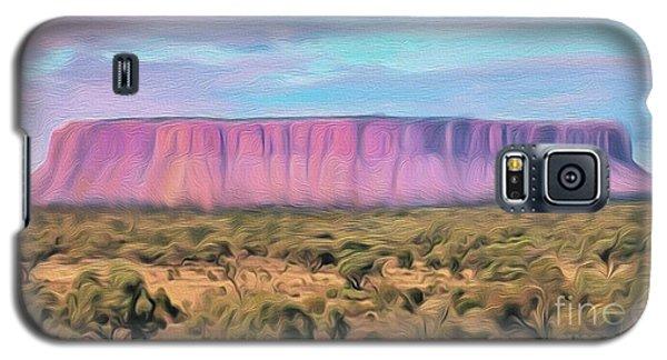 Big Pink Mesa Galaxy S5 Case