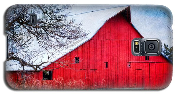 Big Red Barn Galaxy S5 Case
