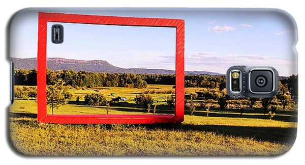 Big Red Frame Easthampton Galaxy S5 Case