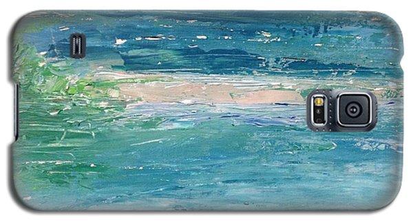 Big Shell Island Galaxy S5 Case