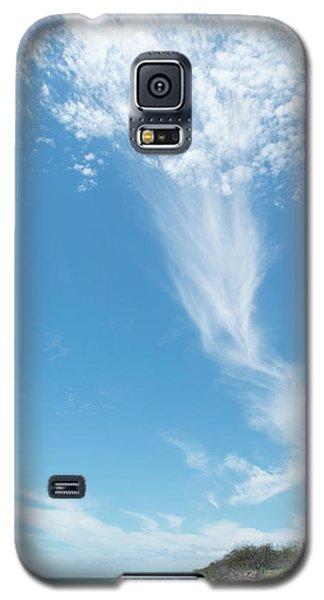 Big Sky Beach Galaxy S5 Case