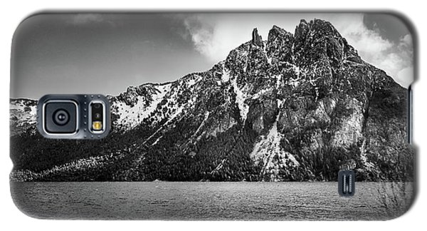 Big Snowy Mountain In Black And White Galaxy S5 Case
