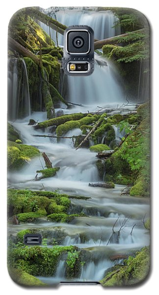 Galaxy S5 Case featuring the photograph Big Spring Creek by Angie Vogel