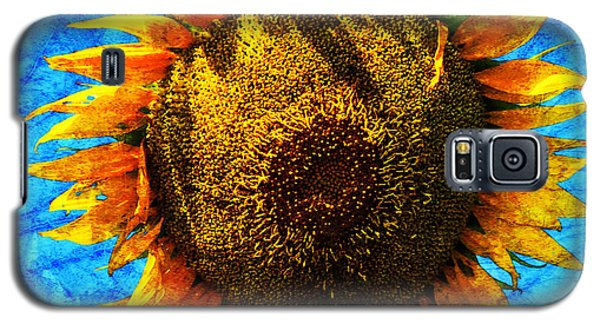 Big Sunflower Galaxy S5 Case