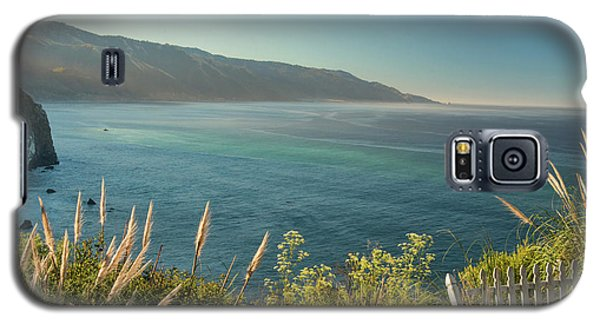 Galaxy S5 Case featuring the photograph Big Sur At Lucia, Ca by Dana Sohr
