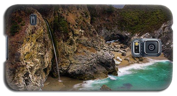 Big Sur Waterfall Galaxy S5 Case