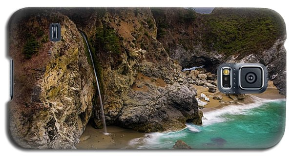 Big Sur Waterfall Galaxy S5 Case