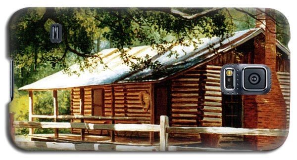 Big Thicket Information Center_the Staley Cabin Galaxy S5 Case