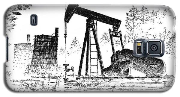 Big Thicket Oilfield Galaxy S5 Case