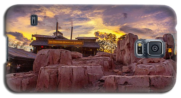 Big Thunder Mountain Sunset Galaxy S5 Case