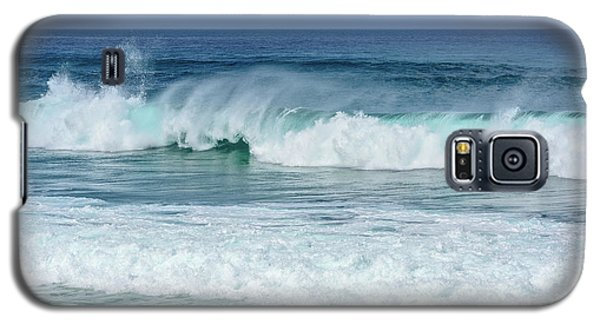 Galaxy S5 Case featuring the photograph Big Waves by Marion McCristall