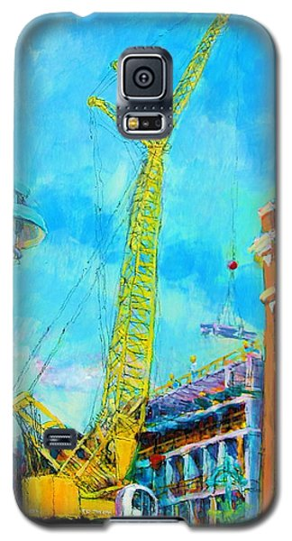 Big Yellow Galaxy S5 Case by Les Leffingwell