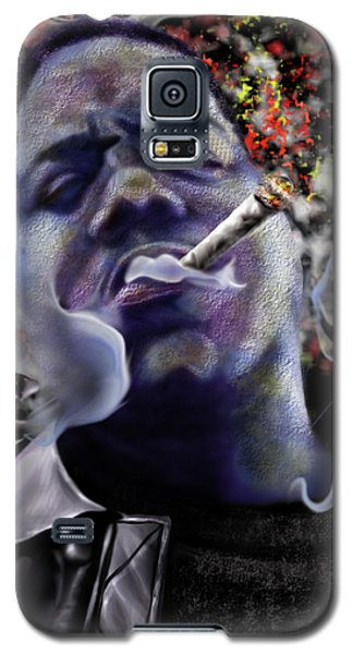 Biggie - Burning Lights 5 Galaxy S5 Case