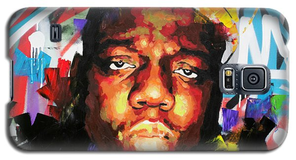 Galaxy S5 Case featuring the painting Biggy Smalls IIi by Richard Day