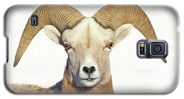 Galaxy S5 Case featuring the photograph Bighorn Sheep Ram by Jennie Marie Schell