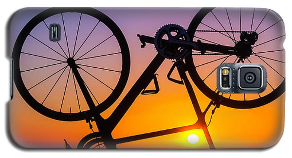 Bicycle Galaxy S5 Case - Bike On Seawall by Garry Gay
