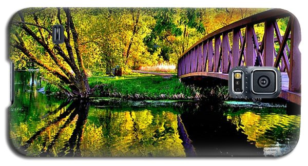 Bike Path Bridge Galaxy S5 Case