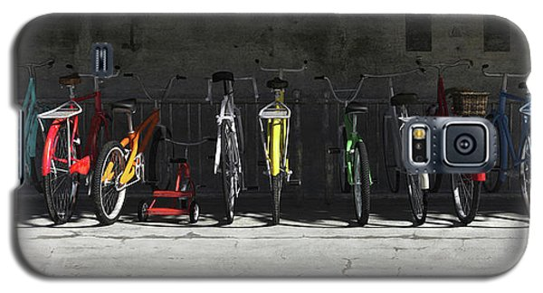 Transportation Galaxy S5 Case - Bike Rack by Cynthia Decker
