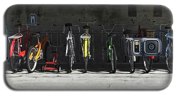 Bike Rack Galaxy S5 Case by Cynthia Decker