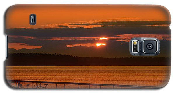 Bike Sunset Galaxy S5 Case