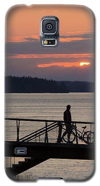 Bikers At Sunset Galaxy S5 Case