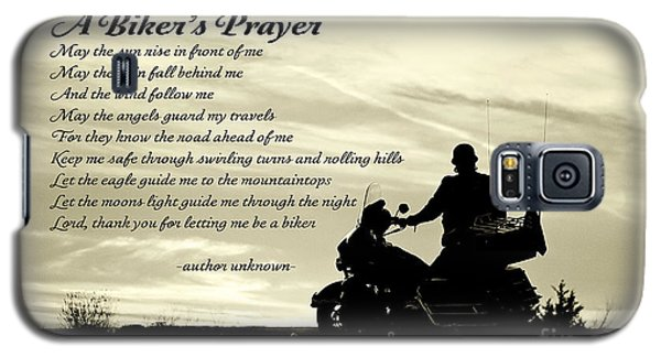 Biker's Prayer Galaxy S5 Case