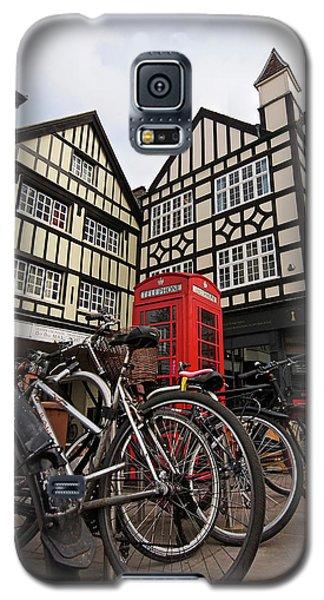 Galaxy S5 Case featuring the photograph Bikes Galore In Cambridge by Gill Billington