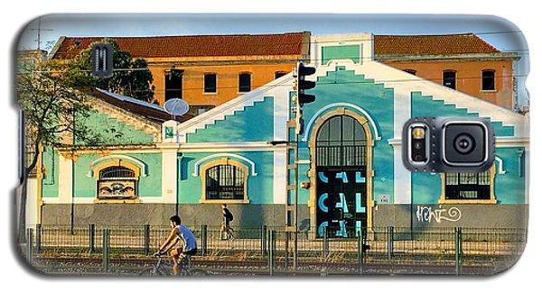 Biking In Lisboa Galaxy S5 Case