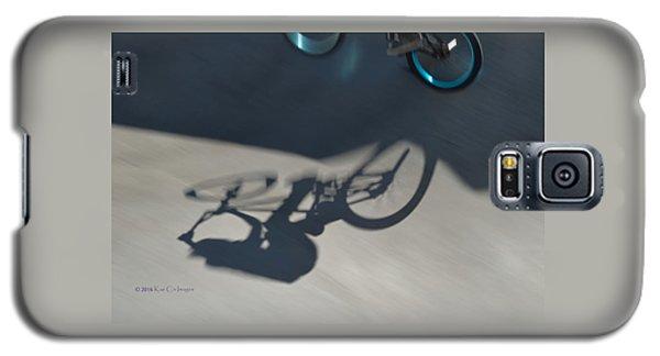 Biking The Skateboard Park 3 Galaxy S5 Case by Kae Cheatham