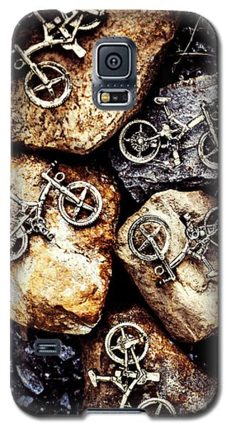 Biking Trail Scene Galaxy S5 Case by Jorgo Photography - Wall Art Gallery
